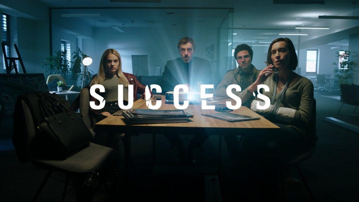 Uspjeh (Success) promo shot with Tara Thaller as Blanka, Uliks Fehmiu as Haris, Toni Gojanovic as Kiki and Iva Mihalic as Vinka
